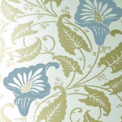 Lavinia Blue Champagne Wallpaper