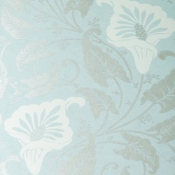 Lavinia Powder Blue Wallpaper