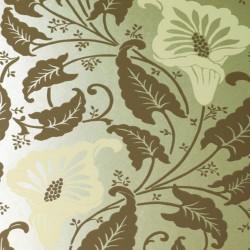 Lavinia Gold & White Wallpaper