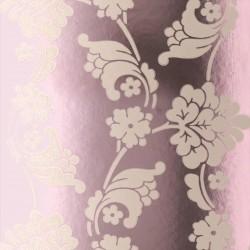 Velvet Jacquard Rose Pink