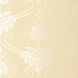 Damask Cream Wallpaper
