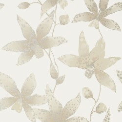 Spotted Orchid Flower Neutral Cream