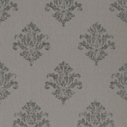 Yala Stone Grey Damask