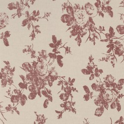 Hakgala Floral Red and Beige
