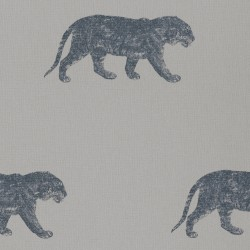 Bundala Tiger Silver Grey and Blue