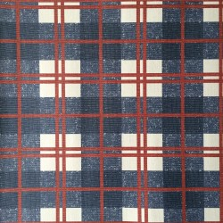 McGregor Tartan Navy Blue and Silver