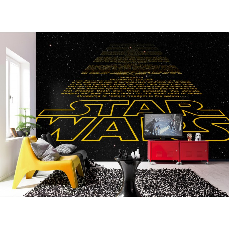... Star Wars Credits Intro Wall Mural Part 28