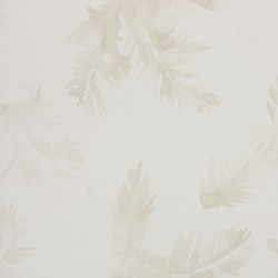Palmeras Watercolour Light Cream Wallpaper