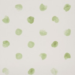 Puntos Poppy Fresh Green Wallpaper