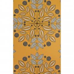 Kaleidoscope Pumpkin Orange Wallpaper
