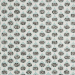 Figs Lagoon Turquoise Blue Wallpaper