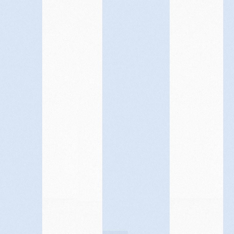 Sol azul blue and white stripe wallpaper