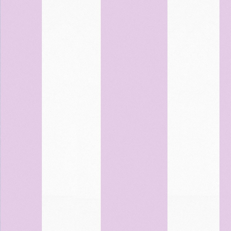 Sol lilac and white stripe wallpaper