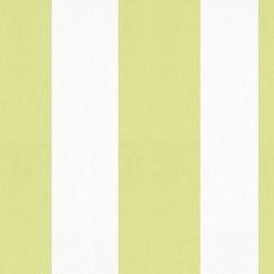 Sol Pistachio Green and White Stripe Wallpaper