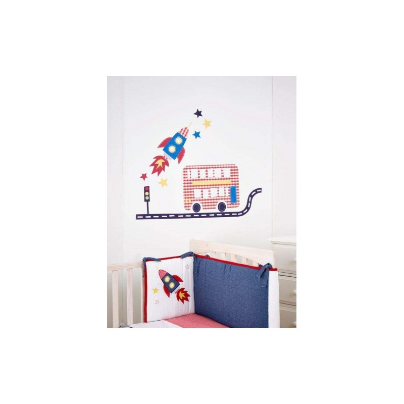 Fetch The Train Engine Wall Stickers Part 35