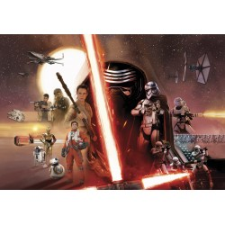 Star Wars Character Wall Mural