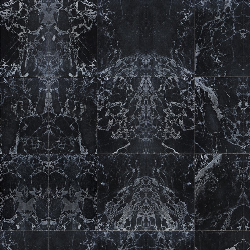 Black Marble Wallpaper, Black Marble Effect Wallpaper
