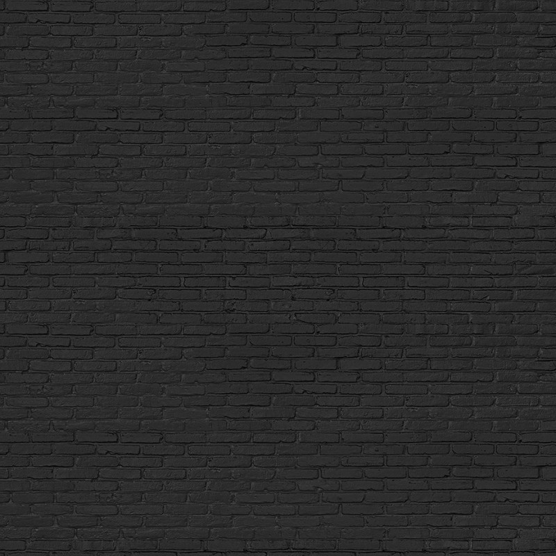 black brick wallpaper black brick effect wallpaper