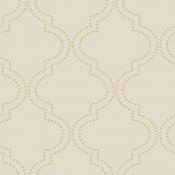Tetra Taupe and Gold Foil Spots
