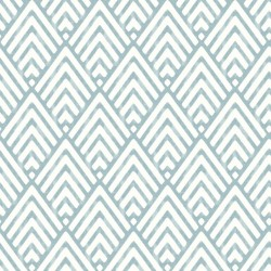 Vertex White and Turquoise Blue Wallpaper