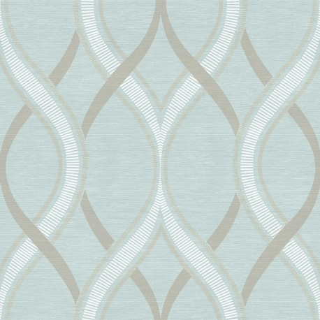Buy Frequency Teal Blue Beige 2625 21851 Wallpaper Direct Uk