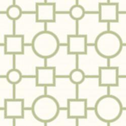 Matrix White, Lime Green and Grey Trellis