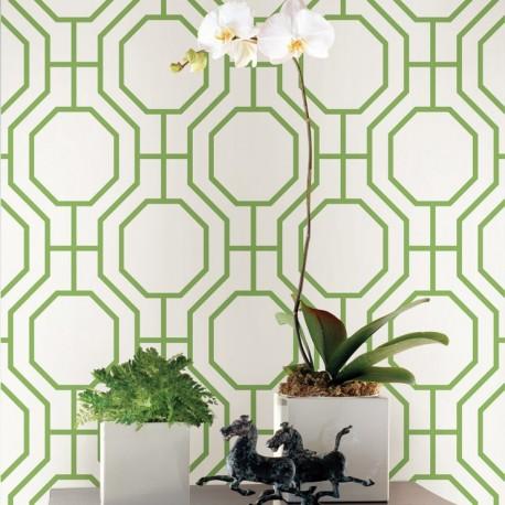 Buy circuit lime green 2625 21846 wallpaper direct uk for Lime green wallpaper for walls