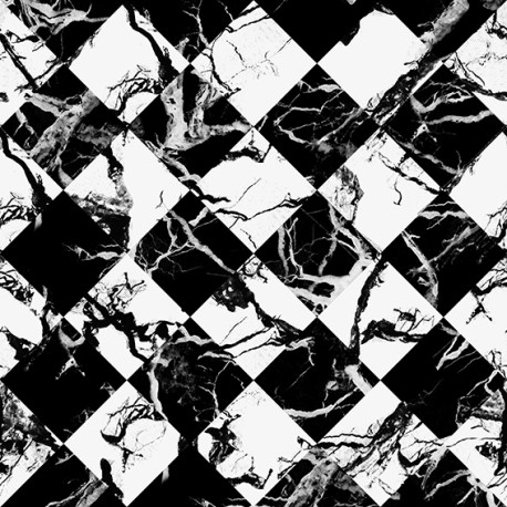 Marble Tile Geometric Wallpaper
