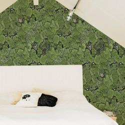 Liquen Green Trees Wallpaper