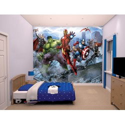 Avengers Assemble Age of Ultron Mural