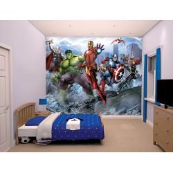 Avengers Assemble Age of Ultron Mural