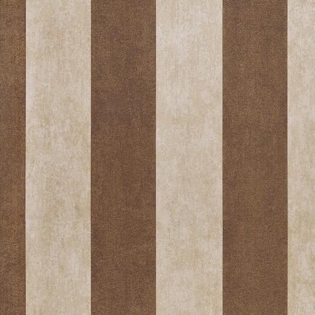 Enderby Sand Cream Striped Wallpaper