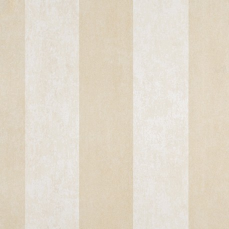 Enderby Silver & Cream Striped Wallpaper