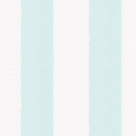 Aquarela Sky Blue and White Stripe