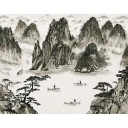 Sumi Wall Mural