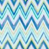 Tepi Blue and Purple Zig Zag Wallpaper