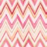 Tepi Pink and Orange Zig Zag Wallpaper