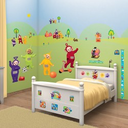 Walltastic Teletubbies Room Décor Kit