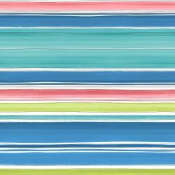 Elle Mutlicoloured Striped Wallpaper