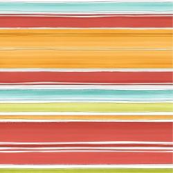 Stripe Aqua Marine Striped Wallpaper