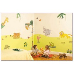 Superior Jungle Safari Wall Stickers Part 4