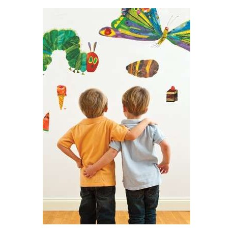 kids wall stickers wall stickers hungry caterpillar myshop