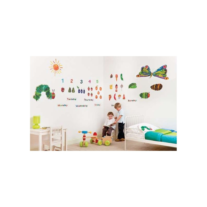 Lovely Hungry Caterpillar Wall Stickers Part - 13: ... The Very Hungry Caterpillar - Eric Carle ...