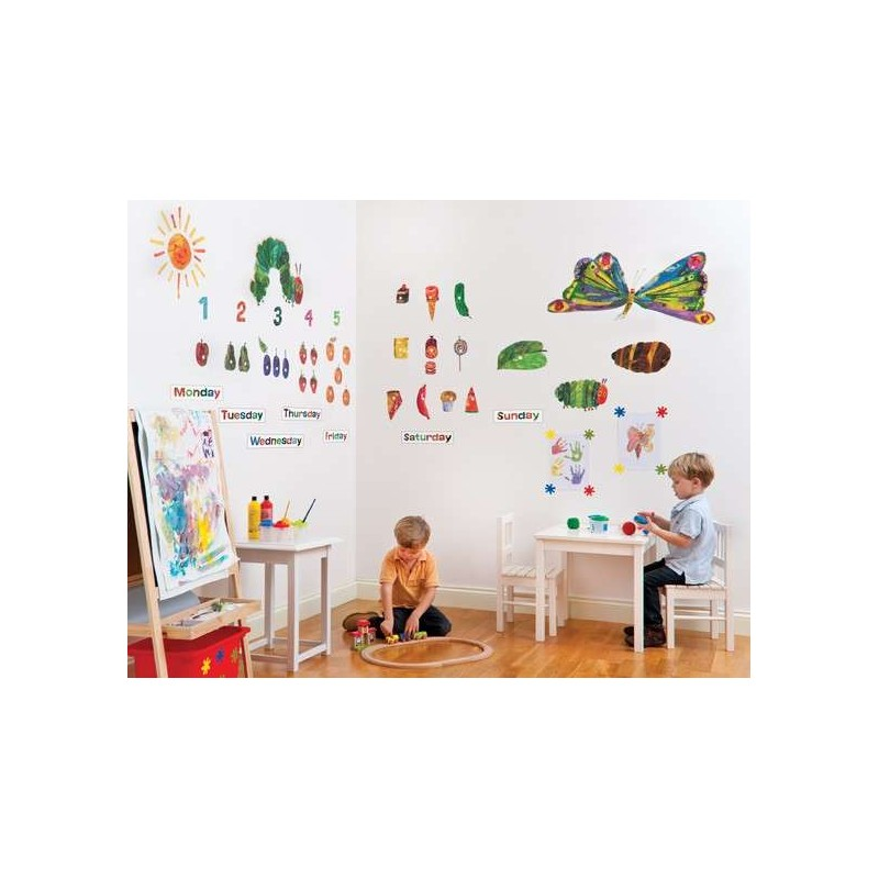 kids wall stickers wall stickers hungry caterpillar 1000 images about 123 s on pinterest count number
