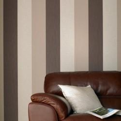 Java Brown and Cream Stripe