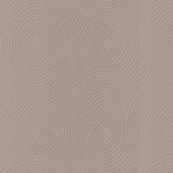Ulterior Taupe Brown & Gold Wallpaper