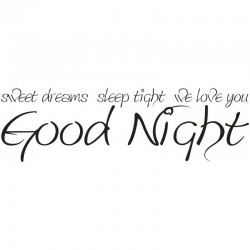 Sweet Dreams Wall Sticker