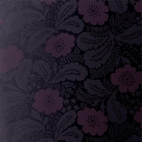 Ash maroon purple on black at10085 wp087 for Ash wallpaper mural