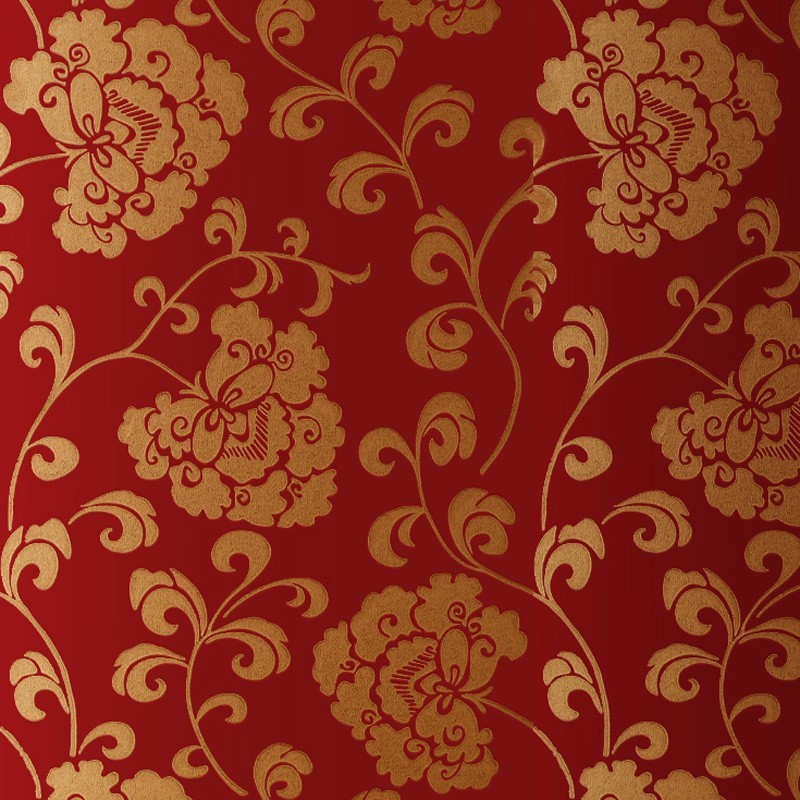 Gold and red background wallpaper