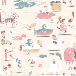 Carousel of Dreams Kids Wallpaper